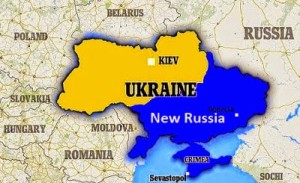 new russia ukraine map